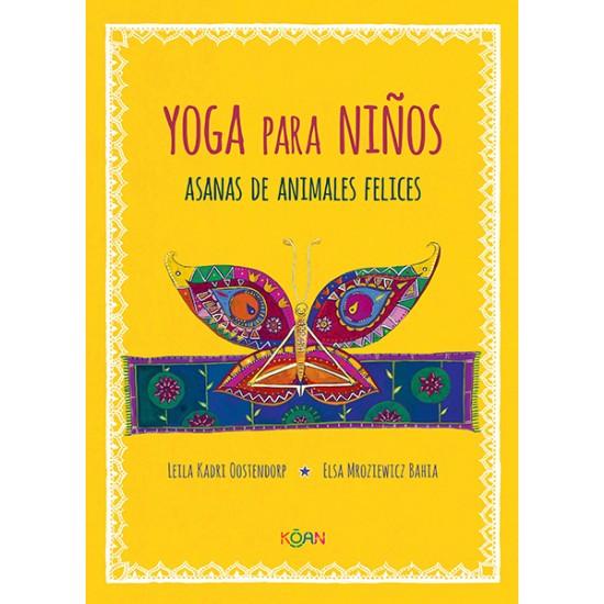 Yoga para niños. Asanas de animales felices
