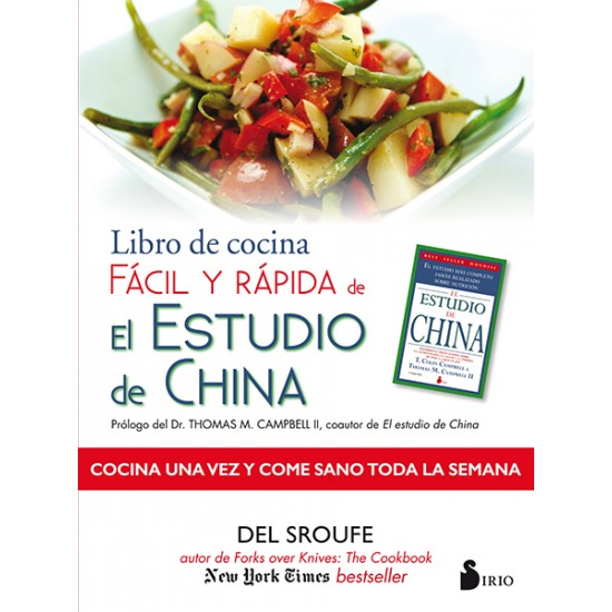 Libro de cocina facil y rápida de El Estudio de China
