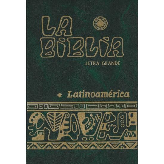 La biblia católica latinoamericana (letra grande)