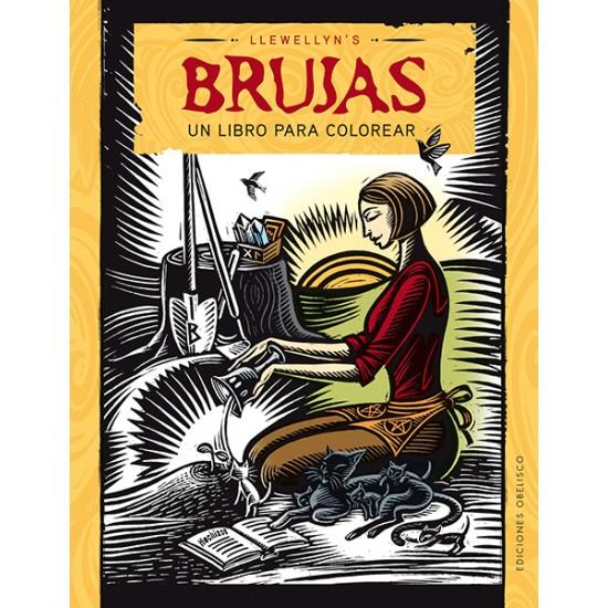 Brujas. Un libro para colorear