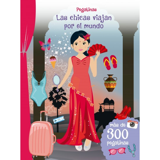 Pegatinas: Las chicas viajan por el mundo