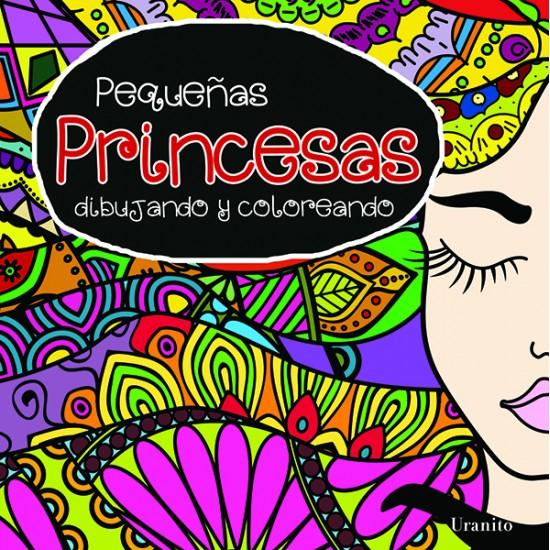 Pequeñas princesas, dibujando y coloreando