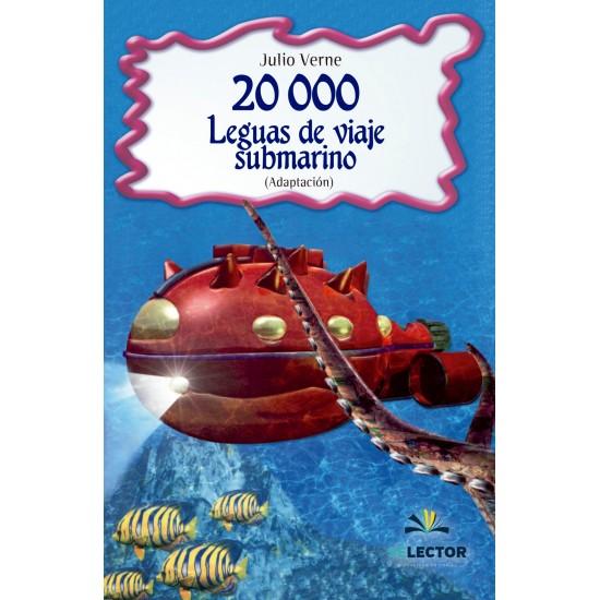 20000 leguas de viaje submarino. Para niños