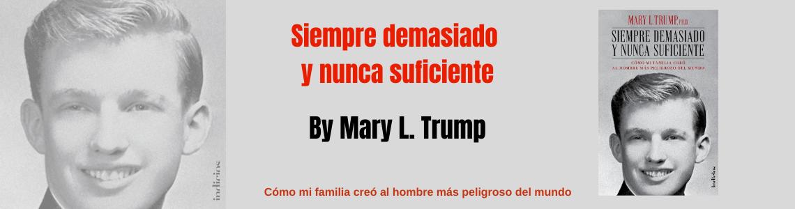 view Donald Trump bajo la mirada de su sobrina Mary L Trump